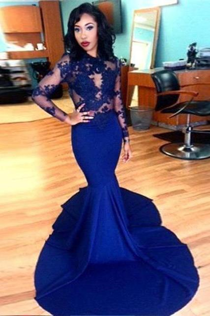 Sleeveless Prom Dress,Two Pieces Evening Dress,Long Prom Dresses,Sexy Prom Gowns