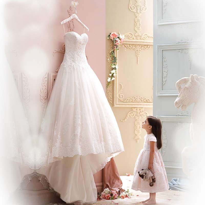 High Quality Cheap Price Wedding Gowns Western Style